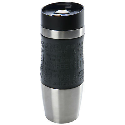 Thermobecher Kaffeebecher Thermosbecher Travel Mug Isolierbecher Schwarz Neu!