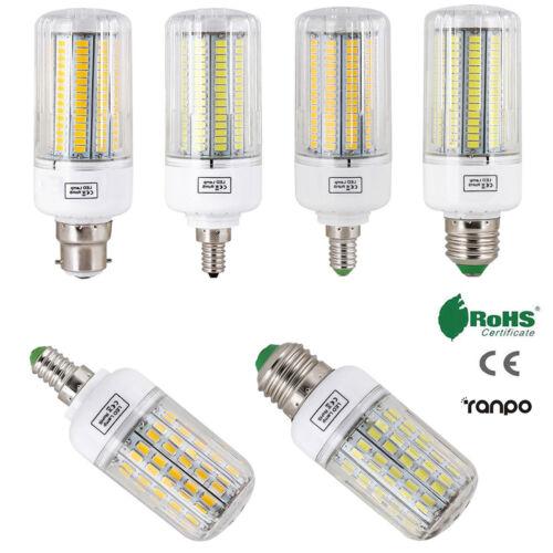 E27 E14 E12 B22 LED Corn Bulb 5730 SMD Light Corn Lamp Incan