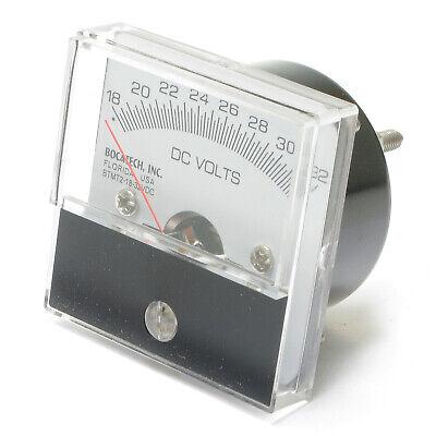Analog Panel Meter 18 - 32 Volt Dc 2 Inch