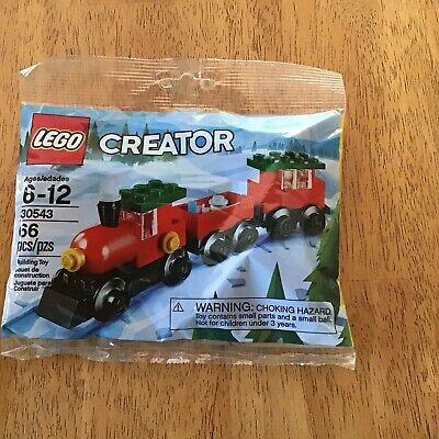 Lego Seasonal/Holiday 30543 Christmas Train Polybag New Sealed