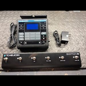 TC Helicon Voicelive Touch 2 with Footswitch