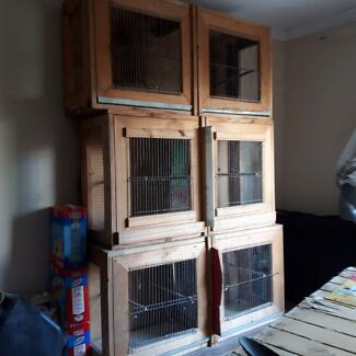 3 bird breeding cages - FREE.