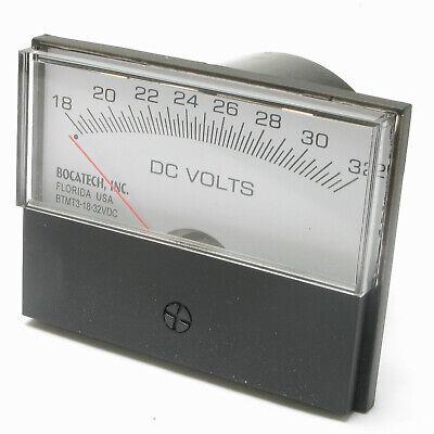 Panel Meter 18-32 Volt Dc Meter 75 X 58mm