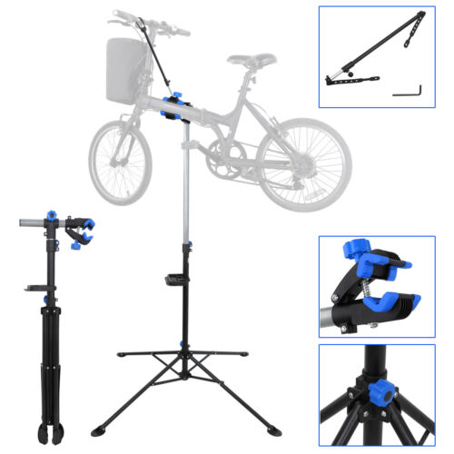 ❀New Bench Mount Bike Repair Stand Bicycle Rack Workstand Space Saving Tool US.