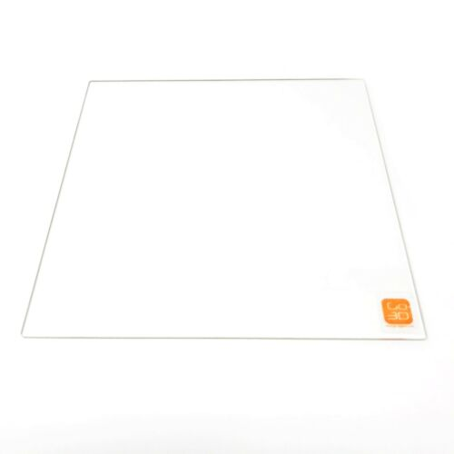 300mm x 300mm Borosilicate Glass Plate Bed Flat Polished Edge for 3D Print