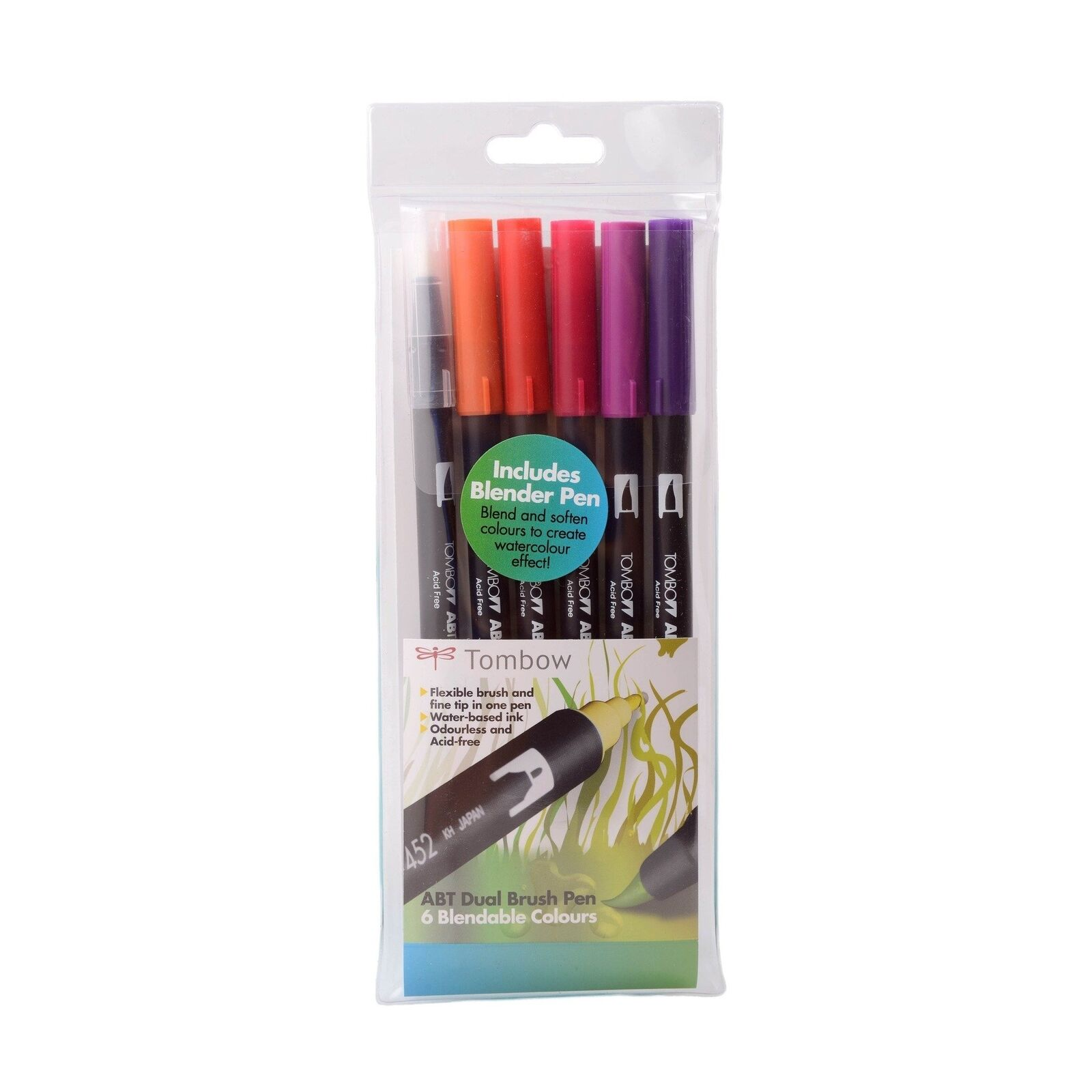First Edition Craft Double Ended Blender Marker Fine /& Brush Tip Blending Pen