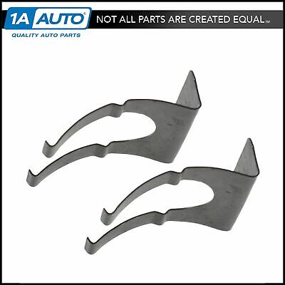OEM License Plate Light Retainer Clip Pair LH & RH Sides Metal for Chevy GMC New