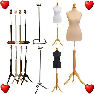 Female Kids Male Tailors Tailor Dummy Mannequin Dressmaker Bust Retail Display
