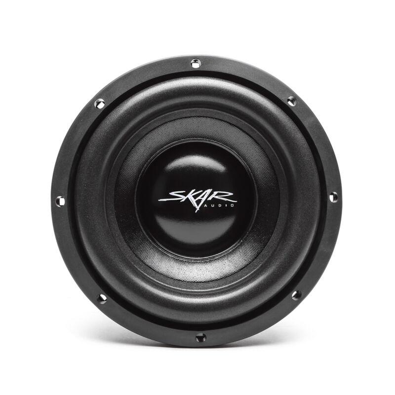 "NEW SKAR AUDIO IX-8 D4 8"" 300 WATT MAX POWER DUAL 4 OHM CAR SUBWOOFER"