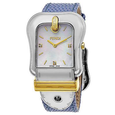 Fendi Women's B. Fendi Mother of Pearl Dial Swiss Quartz Watch F382114531D1