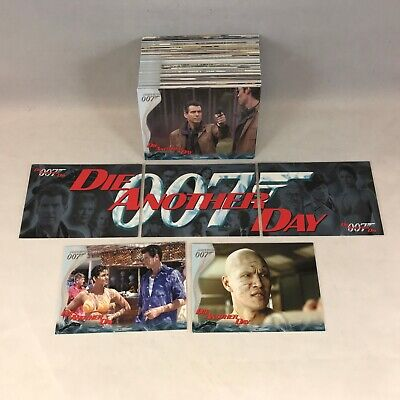 JAMES BOND 007 DIE ANOTHER DAY (Rittenhouse 2002) COMPLETE CARD SET Halle Berry