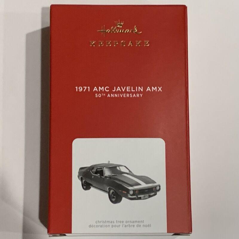 2021 Hallmark Keepsake 1971 AMC Javelin AMX 50th Anniversary LE Free Shippi