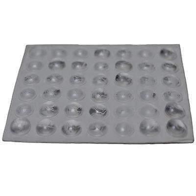 42 Klebepuffer Gummipuffer Türpuffer transparent selbstklebend Puffer Möbel