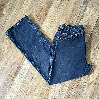 CK Calvin Klein jeans women's size 14 cotton jean denim boot cut Great Condition