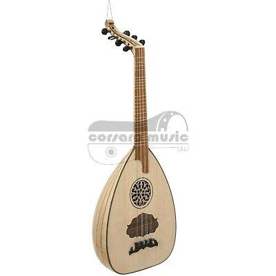 7 String Lute (Lavta, πολιτικο λαούτο) w/ gig bag