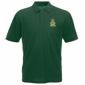 Raf police polo shirt with embroidered logo ebay for Embroidered police polo shirts