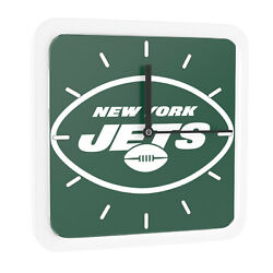 New 3 in 1 NFL New York Jets Home Office Decor Wall Desk Magnet Clock 6