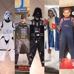 Boys Halloween Costumes for Sale, Sizes 5-12 yrs