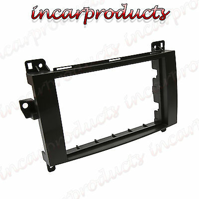 Mercedes VW Double DIN Car CD Stereo Radio Facia Fascia Adaptor Surround Plate