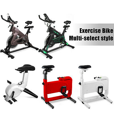 Exercise Bike Indoor Bicycle Fitness 8 Levels Magnetic System Adjustable Seat
