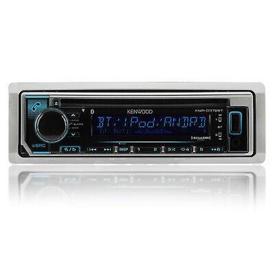 Kenwood Bluetooth Marine Boat KMR-D372BT iPhone iPod Stereo USB Receiver NEW