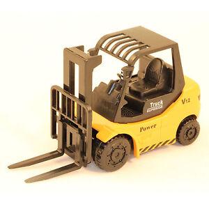 Gabelstapler mit beweglicher Gabel Stapler Modell Metall und Kunststoff 21894