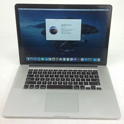 "Apple MacBook Pro 11,3 15"" i7 2.50GHz 16GB 500GB EMC2881 MGXC2LL/A U122400"