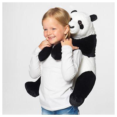 Ikea Djungelskog Large Panda Teddy Bear Stuffed Animal Plush Large XL Big Kramig