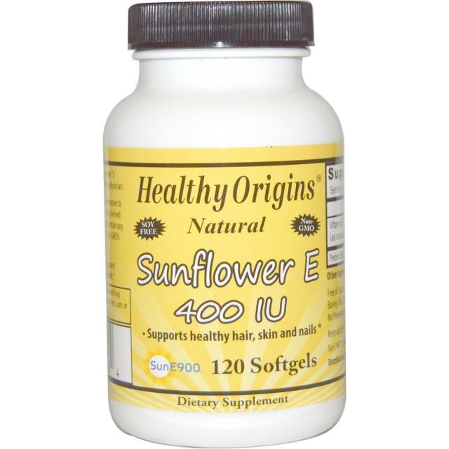 Vitamin E - Sunflower E - 120 - 400iu Softgels by Healthy Origins - Antioxidant