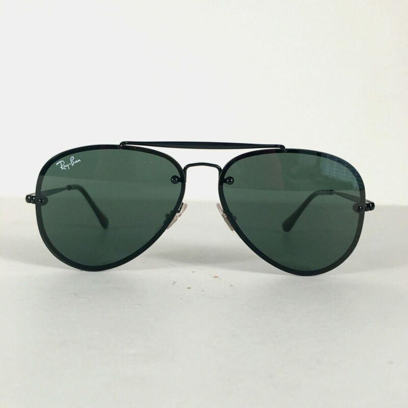 Preowned Ray Ban RJ9548SN Black Aviator Tinted Kids Sunglasses 54mm BG03