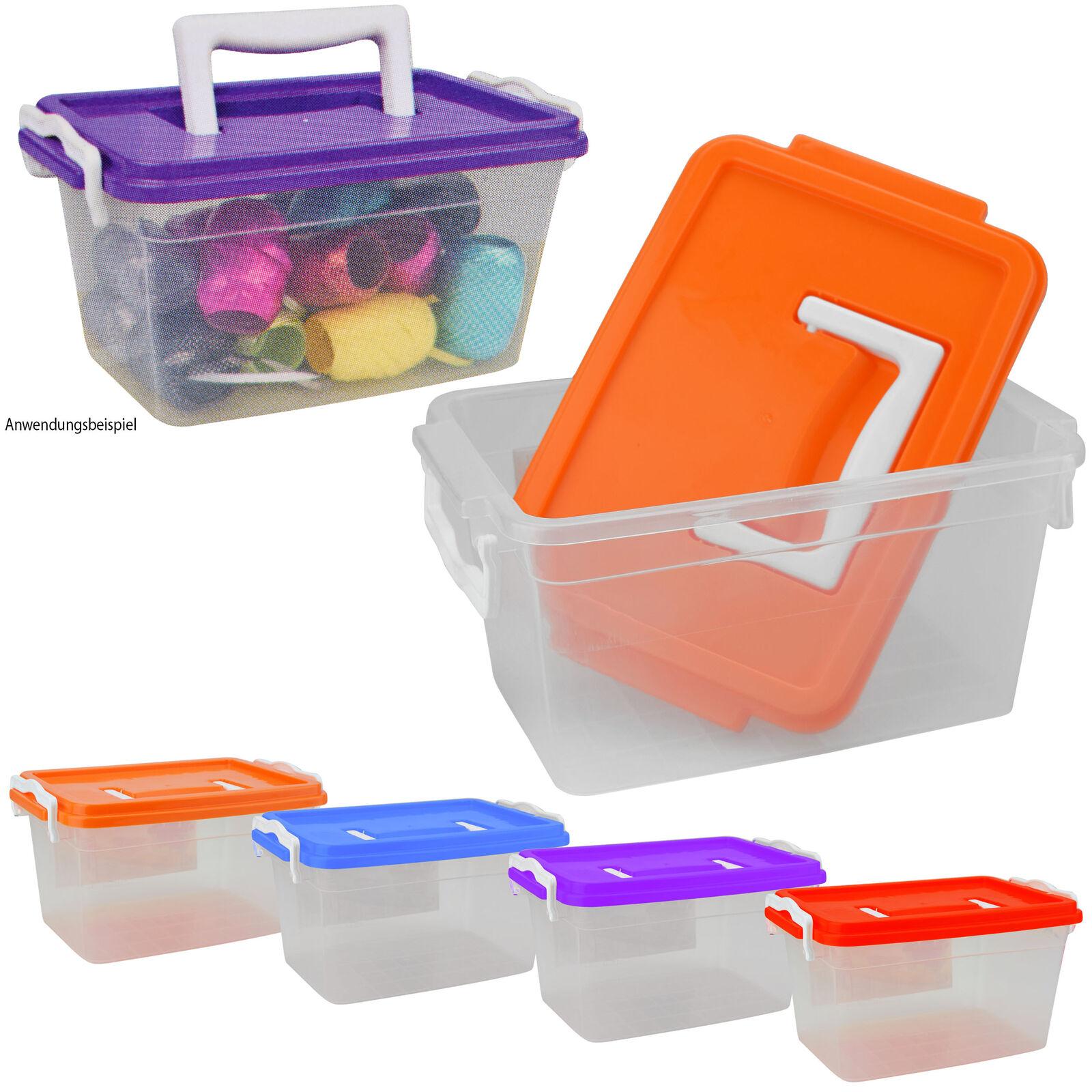 Stemo Lagerbox 50x9x11cm Box Kiste Stapelkiste Sortierkiste Sortierbox blau