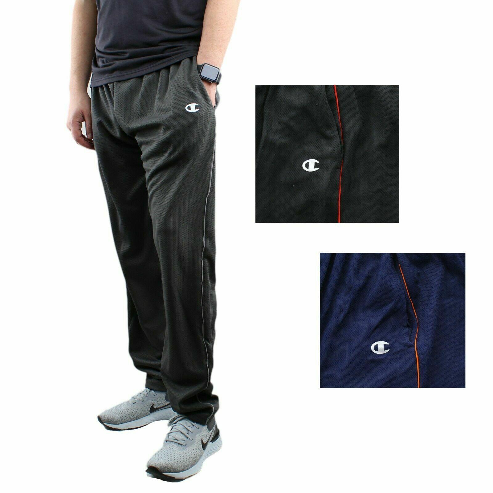 Champion Men's Athletic Pants Mesh Activewear Training Sport