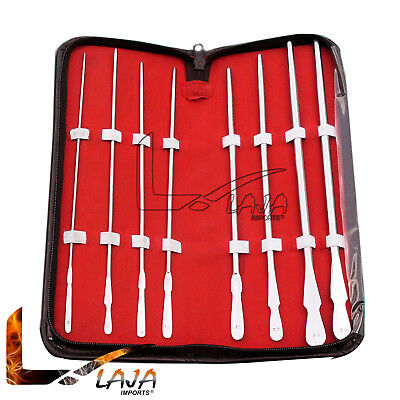 Dittel Urethral Sounds Set Of 8 Urology Instruments Stainless Steel New