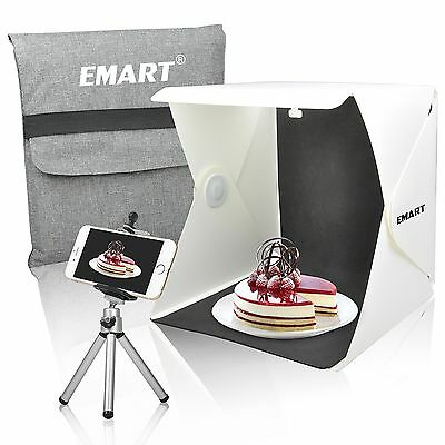 Portable Shooting Kit - Emart 40 LED Foldable & Portable Photo Lighting Studio Shooting Tent Box Kit ...