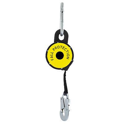 11 Feet Self Retracting Lifeline 1-set 265lb Compact Fall Protection Retractable