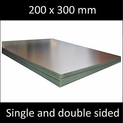 200x300 Mm Single And Double Side Copper Clad Laminate Circuit Boards Fr4 Pcb.