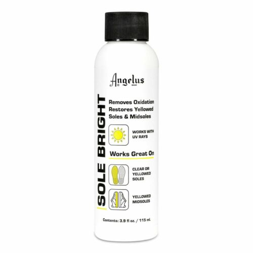 Angelus Sole Bright Oxidation Remover Sneakers Paint Cleaner Shoe Accessory 4Oz