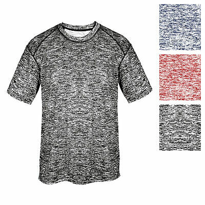 Men's Dri-Core Blended Short Sleeve T-Shirt Badger Athletic Training Tech -