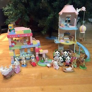 Calico Critters. - figurines et structures