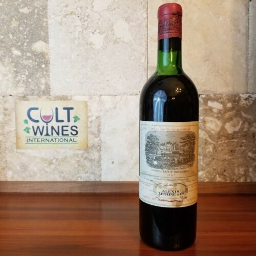 1967 Chateau Lafite Rothschild Pauillac wine. Listing 2
