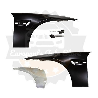 BMW M3 STYLE FENDERS W/ VENT LED SIDE MARKERS W/ TANK FOR E90 E91 OEM MATERIAL