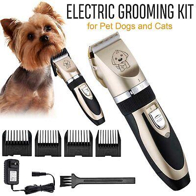 Nuevo Animal eléctrico Mascota Perro Gato Recortador de pelo Afeitadora Razor Grooming Quiet Clipper