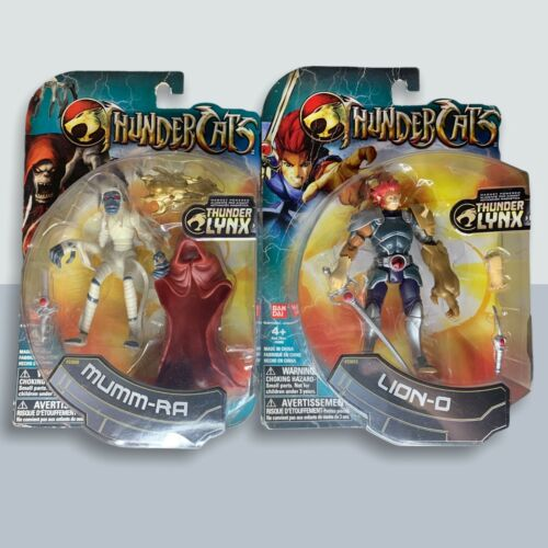 THUNDERCATS Lion-O Mumm-ra 2011 Ban Dai Thunder LYNX Unopened - $39.99