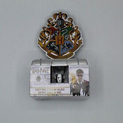 New Harry Potter House Shield Christmas Stocking Holder