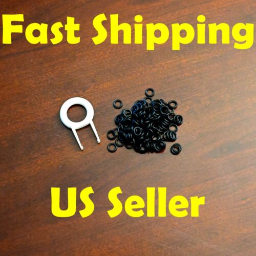 BLACK MECHANICAL GAMING KEYBOARD O-RING SWITCH DAMPERS 110pcs Cherry