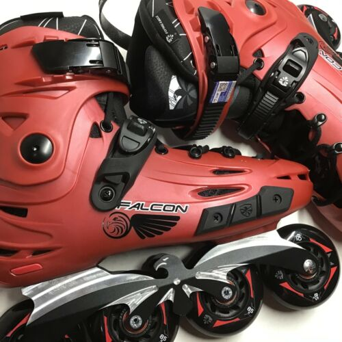 Flying Eagle F6S Falcon Skates Size  9.5 (43) Red