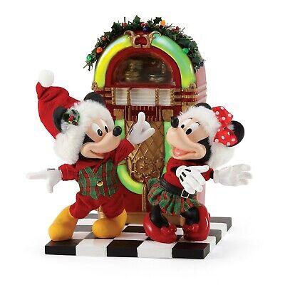 [Dept 56 NEW 2020 Possible Dreams Disney Jingle Bell Swing 6006013 </Title]