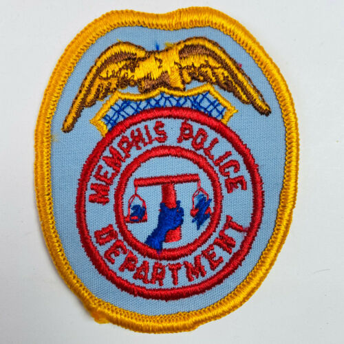 Memphis Police Tennessee TN Patch (A3-A)