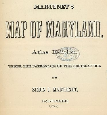 1866 MARYLAND STATE ATLAS map old GENEALOGY GHOST TOWNS TREASURE HUNTING DVD S17