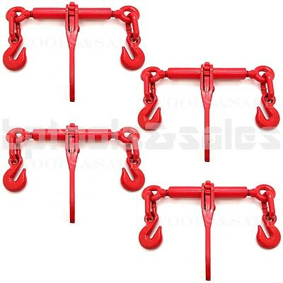4 14 Or 516 Ratchet Load Binder Chain Equipment Tie Down Rigging